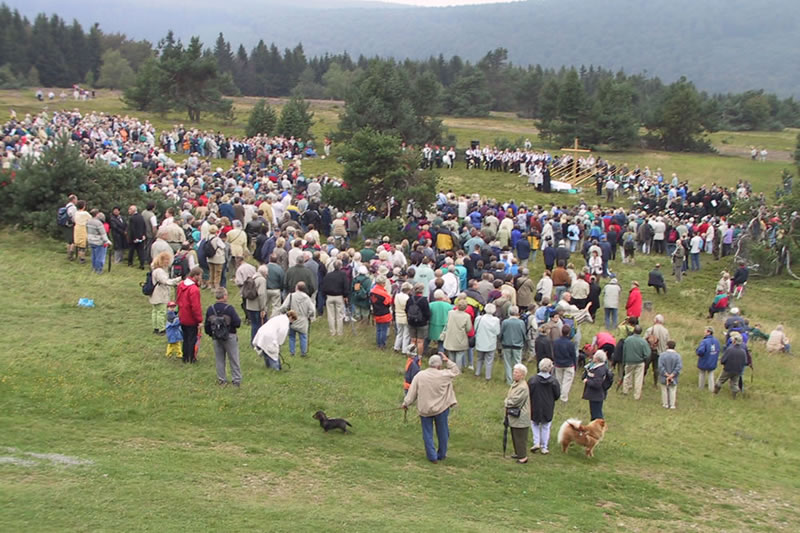 Alphornmesse Publikum