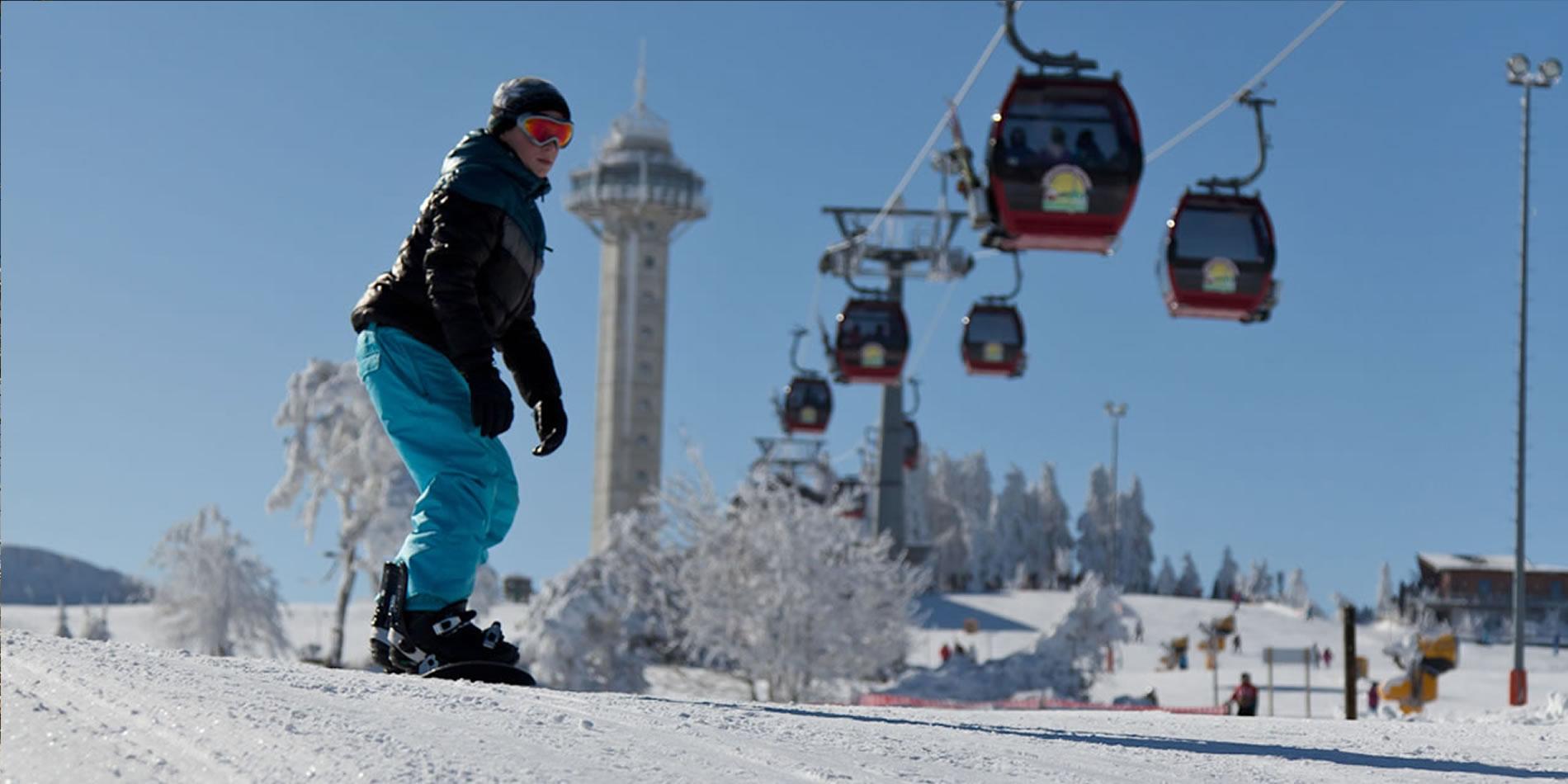Ski und Snowboard am Ettelsberg