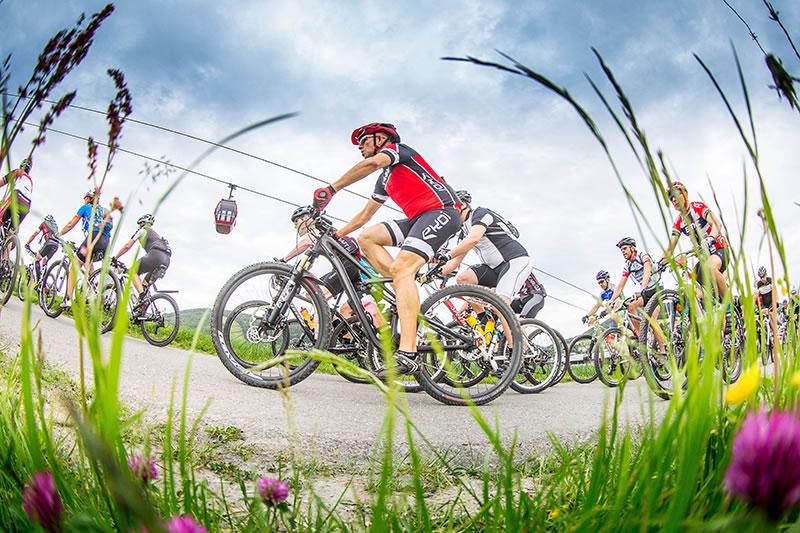 Biken Biker am Ettelsberg