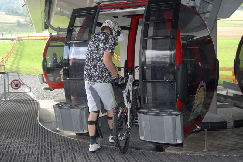 Bikepark Willingen Fahrt mit EBS