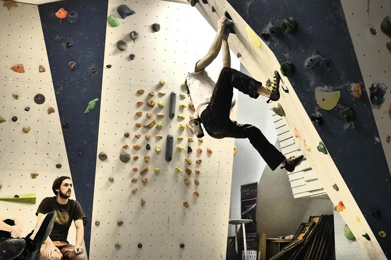 Klettern Kletterhalle Willingen