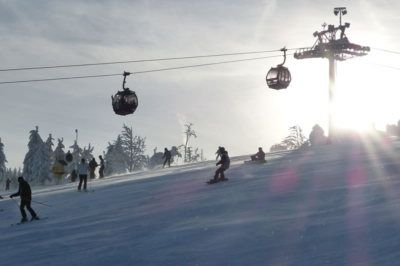 Skifahren am Ettelsberg