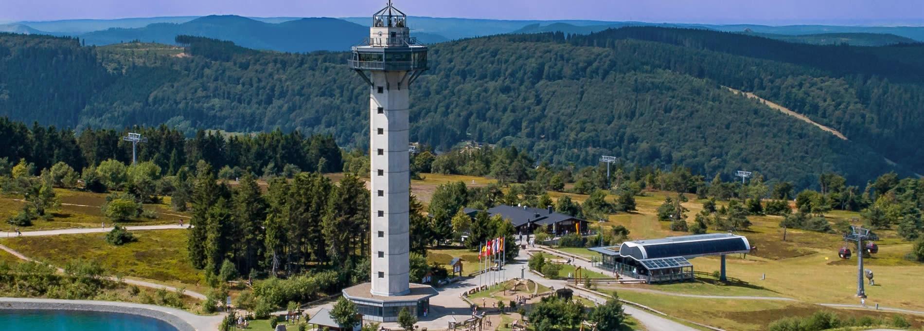 Slider Hochheideturm Bergstation