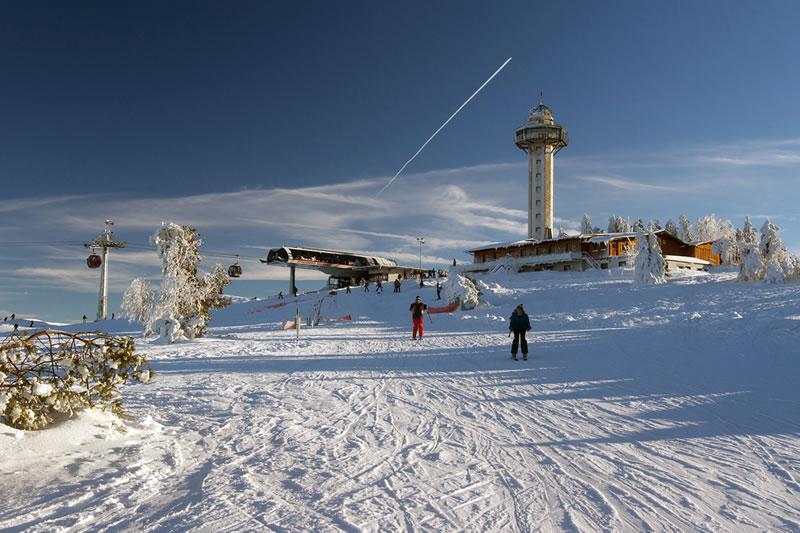 Winter Skigebiet Willingen